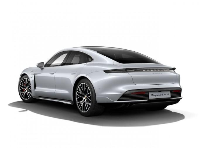 2020 Porsche 93.4kWh 4S Performance Auto 4WD 4-door (Grey) - Image: 3