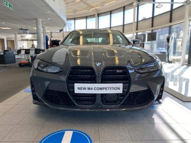 2021 BMW BiTurbo Competition Steptronic 2-door (Grey) - Image: 9