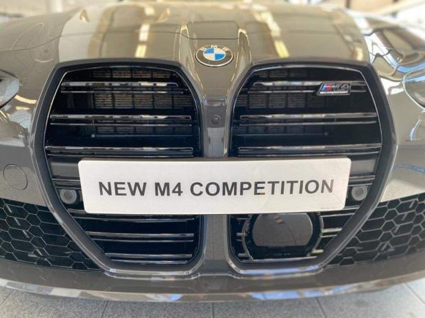 2021 BMW BiTurbo Competition Steptronic 2-door (Grey) - Image: 21