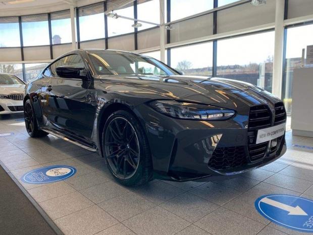 2021 BMW BiTurbo Competition Steptronic 2-door (Grey) - Image: 24