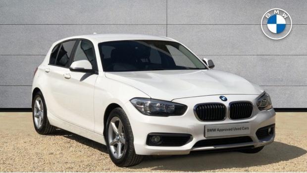 2015 BMW 116d ED Plus 5-door (White) - Image: 1