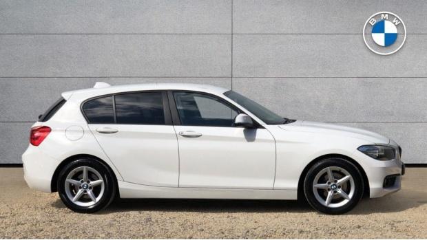 2015 BMW 116d ED Plus 5-door (White) - Image: 3