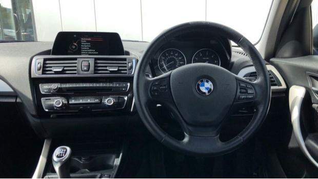 2015 BMW 116d ED Plus 5-door (White) - Image: 5
