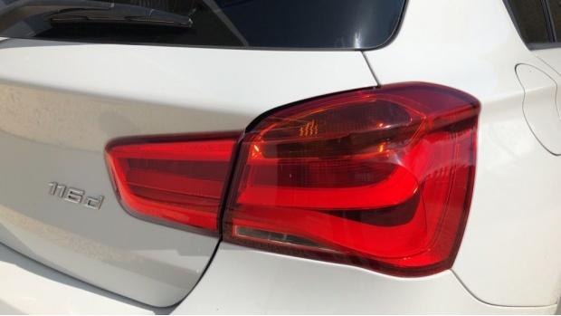 2015 BMW 116d ED Plus 5-door (White) - Image: 21