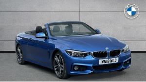 2018 BMW 4 Series 420i M Sport Convertible 2-door