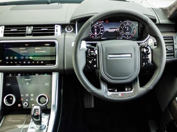 2021 Land Rover P575 V8 SVR Carbon Edition Auto 4WD 5-door (Black) - Image: 10