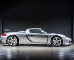 2004 Porsche Carrera GT Coupe Unlisted (Silver) - Image: 3