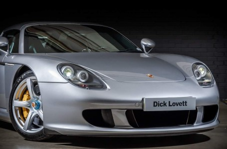 2004 Porsche Carrera GT Coupe Unlisted (Silver) - Image: 8