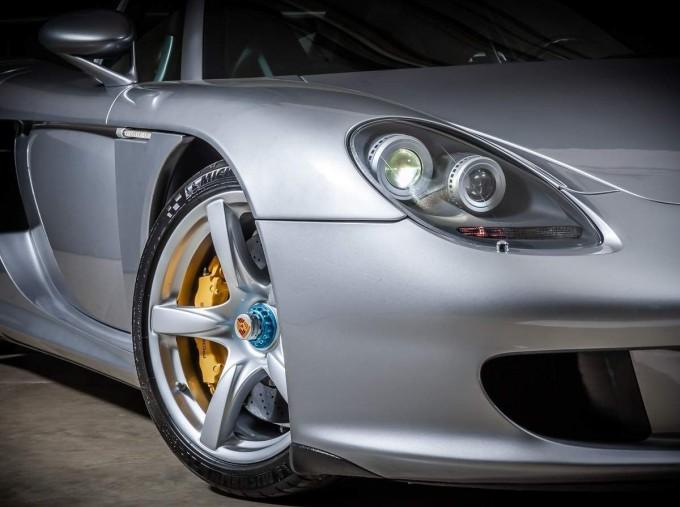 2004 Porsche Carrera GT Coupe Unlisted (Silver) - Image: 9