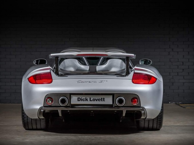 2004 Porsche Carrera GT Coupe Unlisted (Silver) - Image: 10