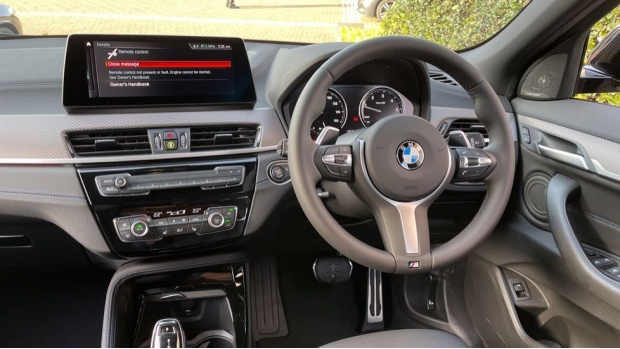 2021 BMW XDrive20d M Sport X (Black) - Image: 5