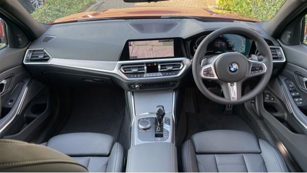 2021 BMW 330e M Sport Saloon (Orange) - Image: 4