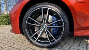 2021 BMW 330e M Sport Saloon (Orange) - Image: 14