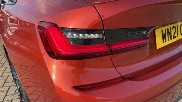 2021 BMW 330e M Sport Saloon (Orange) - Image: 21