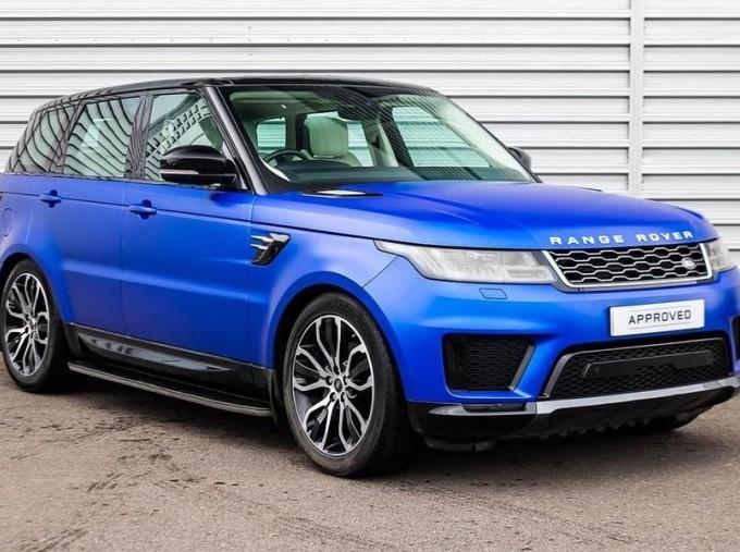 2019 Land Rover SD V6 HSE Auto 4WD 5-door (Blue) - Image: 1