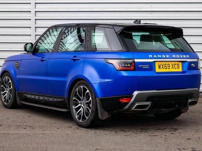 2019 Land Rover SD V6 HSE Auto 4WD 5-door (Blue) - Image: 2