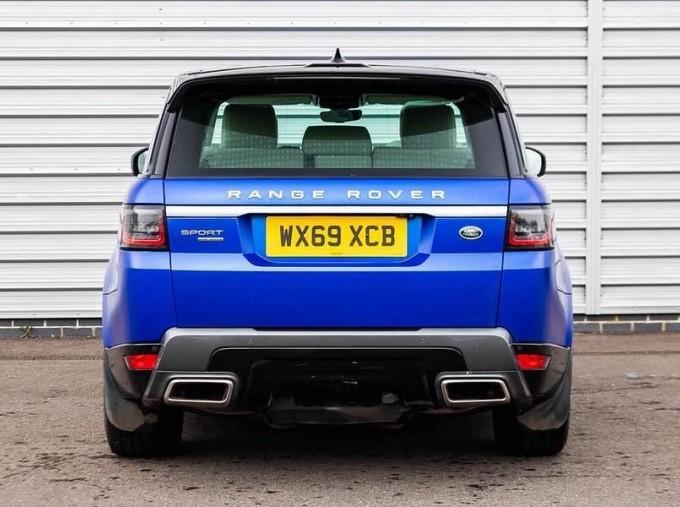 2019 Land Rover SD V6 HSE Auto 4WD 5-door (Blue) - Image: 6