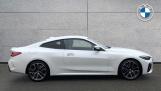 2021 BMW 420i M Sport Coupe (White) - Image: 3