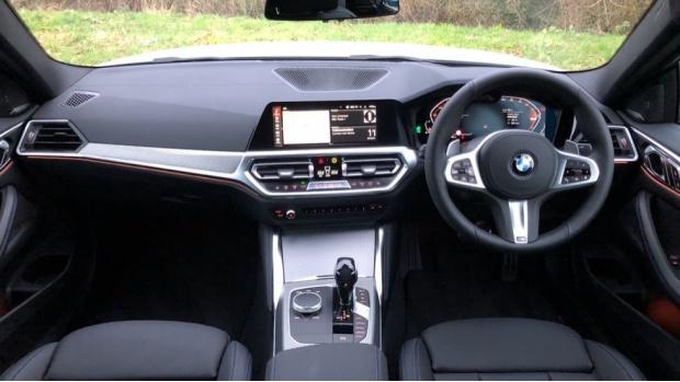 2021 BMW 420i M Sport Coupe (White) - Image: 4