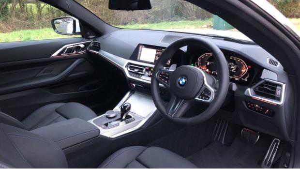 2021 BMW 420i M Sport Coupe (White) - Image: 6