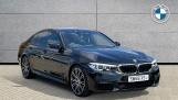 2019 BMW 530i M Sport Saloon (Black) - Image: 1