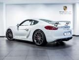 2016 Porsche 981 GT4 2-door (White) - Image: 2
