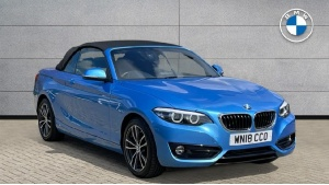 2018 BMW 2 Series 218i Sport Convertible 2-door