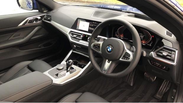 2021 BMW 430i M Sport Coupe (Blue) - Image: 6