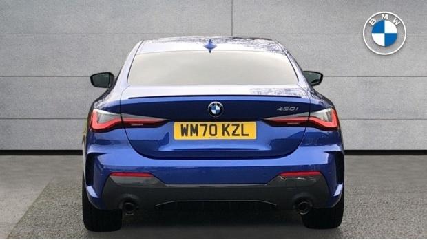 2021 BMW 430i M Sport Coupe (Blue) - Image: 15