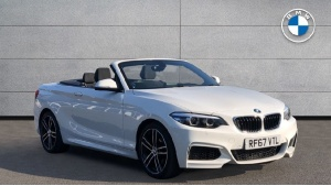 2018 BMW 2 Series 218i M Sport Convertible 2-door