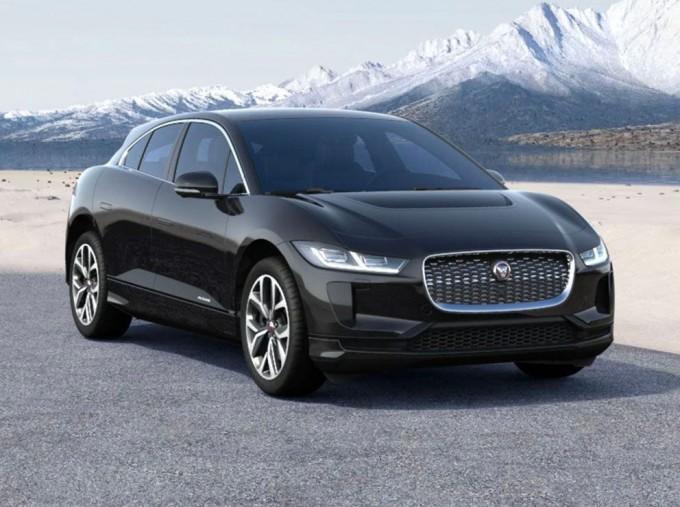2021 Jaguar 90kWh HSE Auto 4WD 5-door (Black) - Image: 1