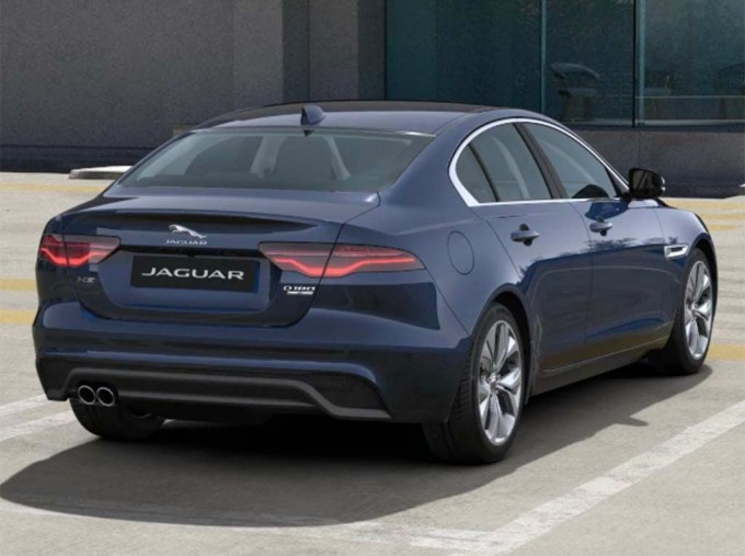 2021 Jaguar 2.0i S Auto 4-door (Blue) - Image: 3