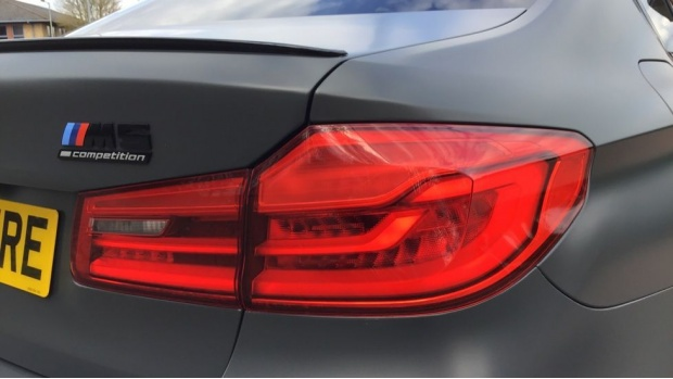 2019 BMW F90 Competition 35 Jahre Edition Salo (Grey) - Image: 22