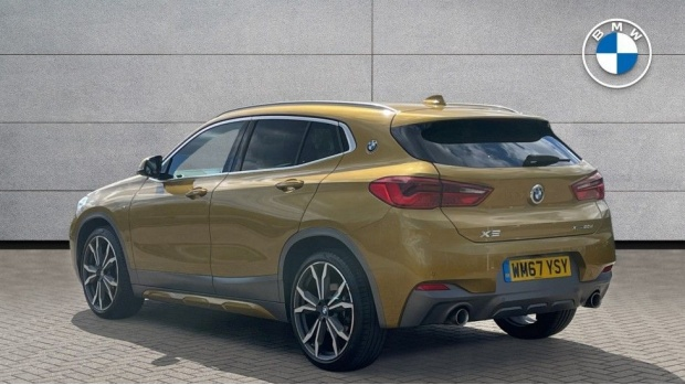 2018 BMW XDrive20d M Sport X (Gold) - Image: 2