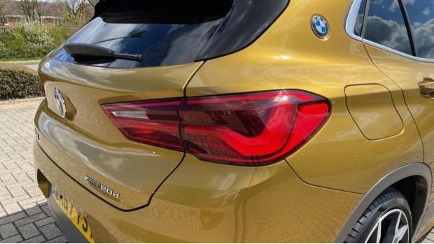 2018 BMW XDrive20d M Sport X (Gold) - Image: 22