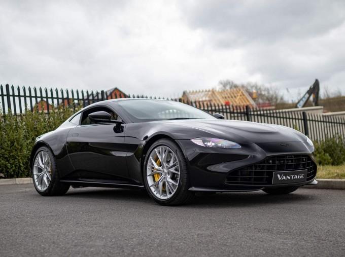 2021 Aston Martin V8 2-door (Black) - Image: 1