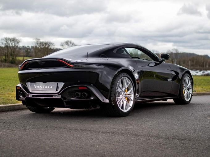 2021 Aston Martin V8 2-door (Black) - Image: 3