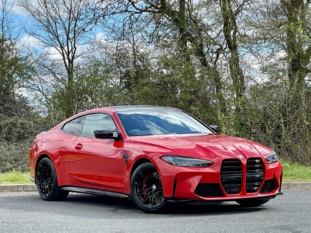 2021 BMW BiTurbo Competition Steptronic 2-door (Red) - Image: 1