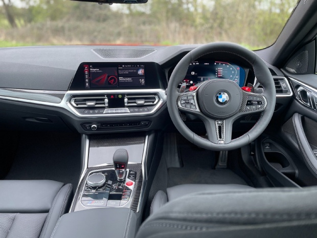 2021 BMW BiTurbo Competition Steptronic 2-door (Red) - Image: 5