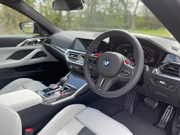 2021 BMW BiTurbo Competition Steptronic 2-door (Blue) - Image: 6