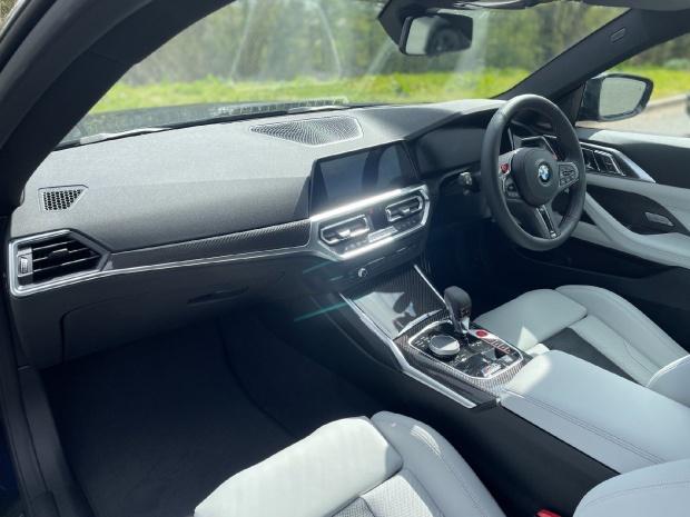 2021 BMW BiTurbo Competition Steptronic 2-door (Blue) - Image: 7