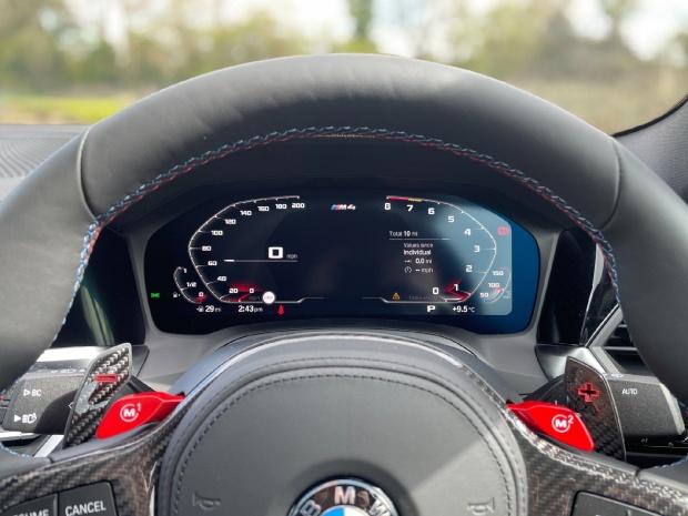 2021 BMW BiTurbo Competition Steptronic 2-door (Blue) - Image: 9