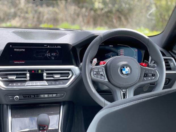 2021 BMW BiTurbo Competition Steptronic 2-door (Blue) - Image: 21