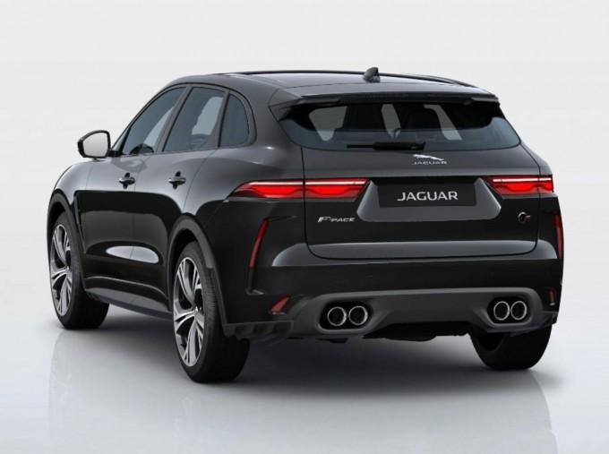 2021 Jaguar V8 SVR Quickshift 5-door (Black) - Image: 3