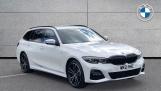 2021 BMW 330e 12kWh M Sport Touring Auto 5-door (White) - Image: 1