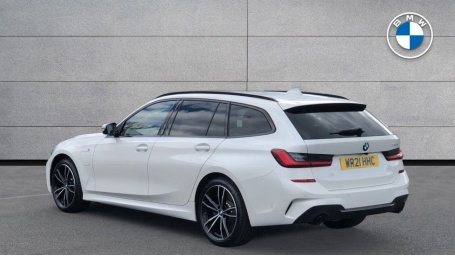2021 BMW 330e 12kWh M Sport Touring Auto 5-door (White) - Image: 2