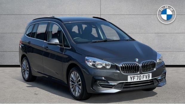 2020 BMW 216d Luxury Gran Tourer (Grey) - Image: 1