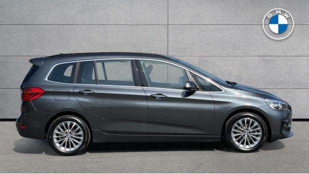2020 BMW 216d Luxury Gran Tourer (Grey) - Image: 3