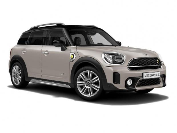 2021 MINI 10kWh Cooper SE Exclusive Auto ALL4 5-door (Grey) - Image: 1