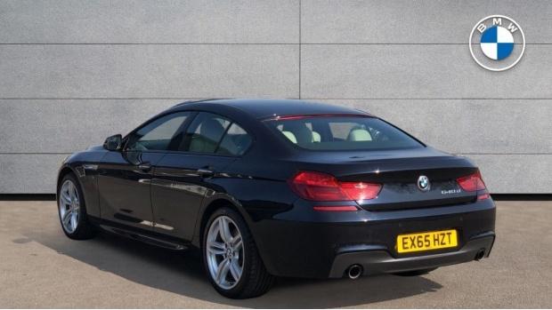 2015 BMW 640d M Sport Gran Coupe (Black) - Image: 2